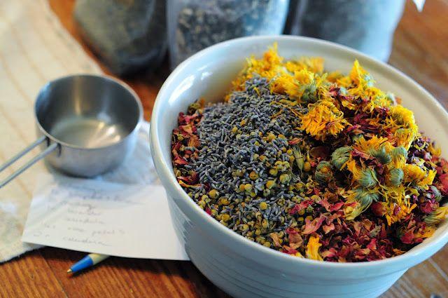Healing Herbal Baths Bath Tea Recipes Postpartum Care