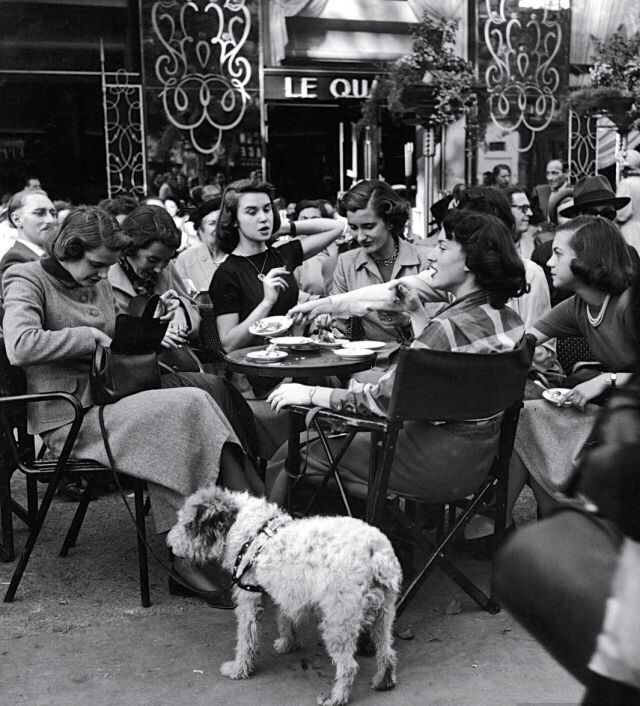 American College Students In Paris 1950 S Gordon Parks Vintage Photography Black And White Photography