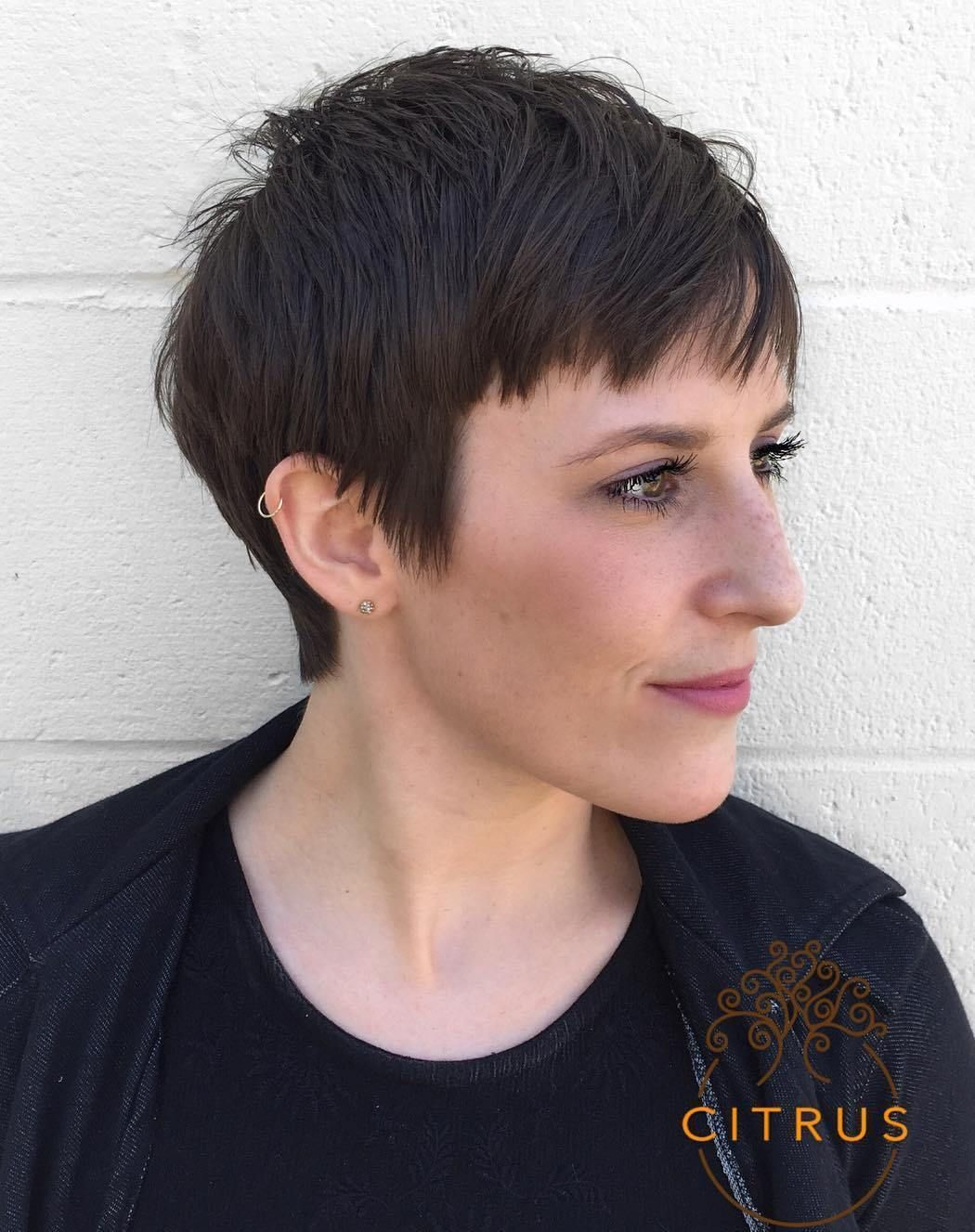 MindBlowing Short Hairstyles for Fine Hair  Edgy pixie cuts