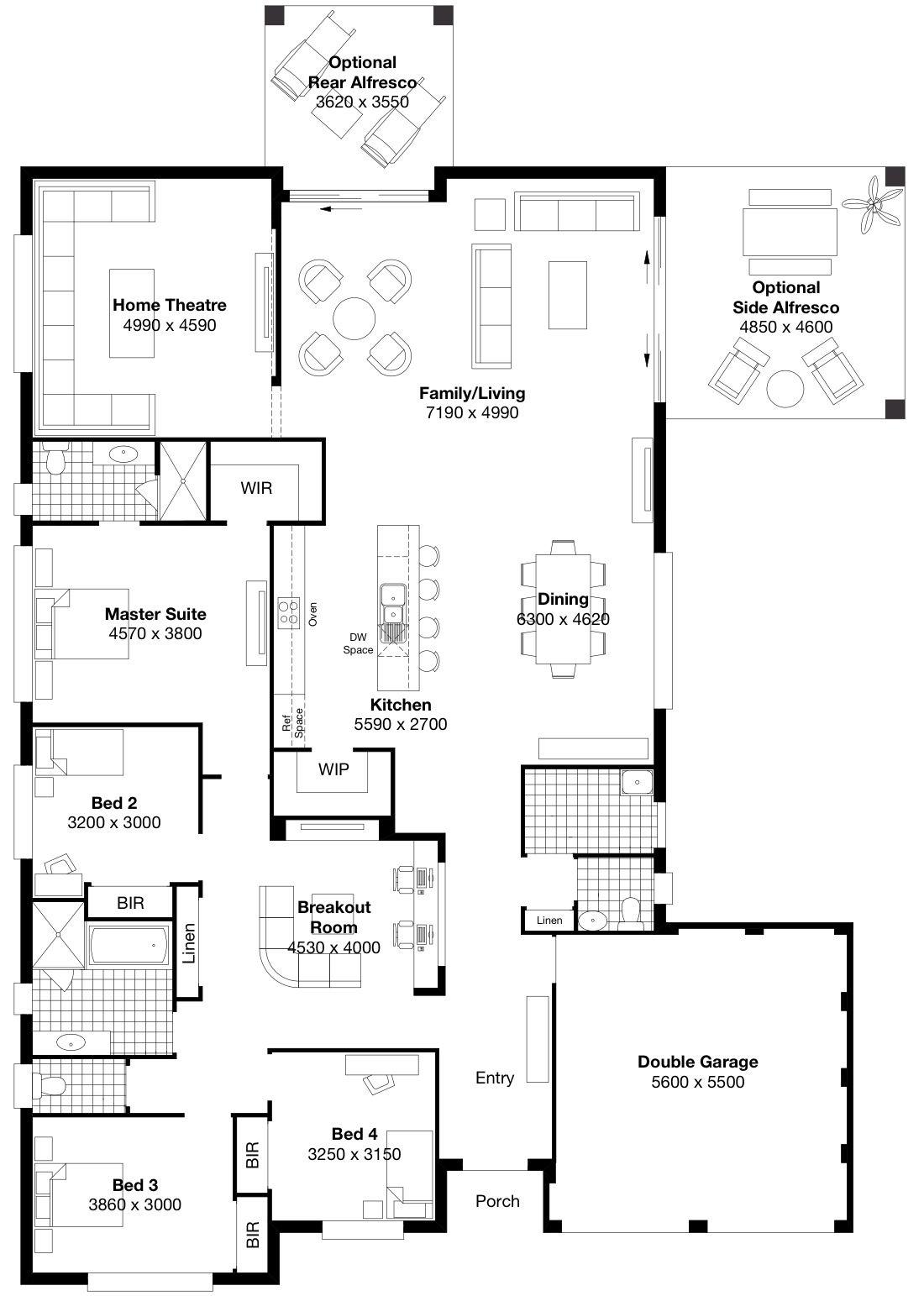 Masterton homes floor plans homes home plans ideas picture - Symphony 5 Masterton Homes House Floorhouse Planskitchen Ideasfloor