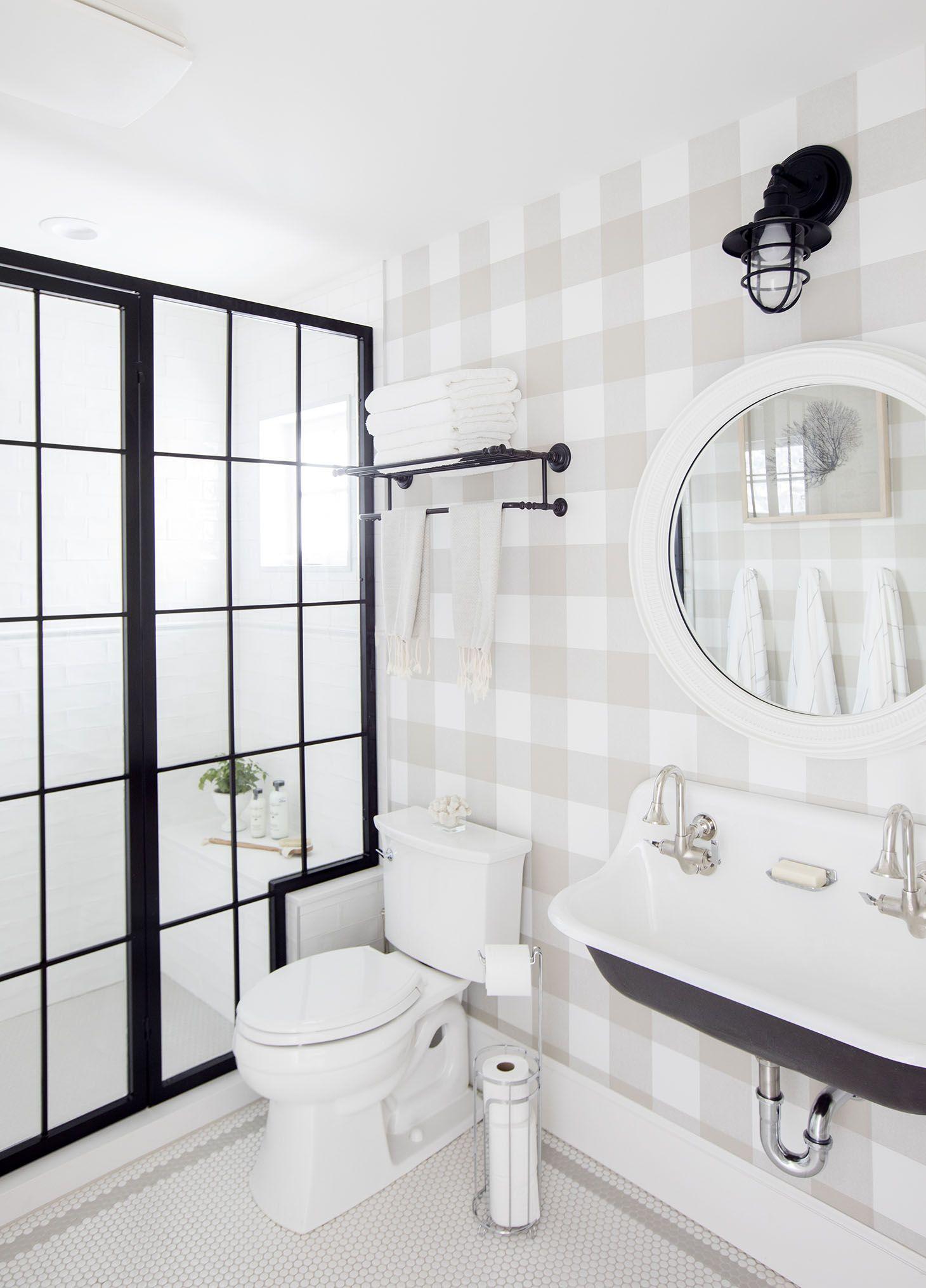 Home Tour Series Spare Bathroom Bathroom Industrial