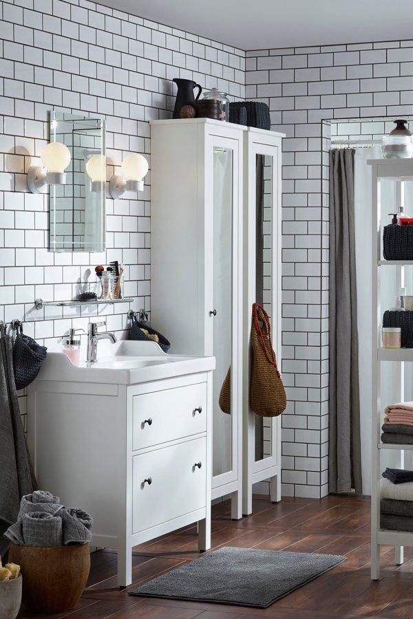 If Your Entire Family Is Sharing One Bathroom Picking Out The Right Storage Is Key Ikea Bathroom Storage Ikea Bathroom Storage Bathroom Design Ikea Bathroom