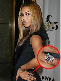 Beyonce S 5 Million Dollar Engagement Ring