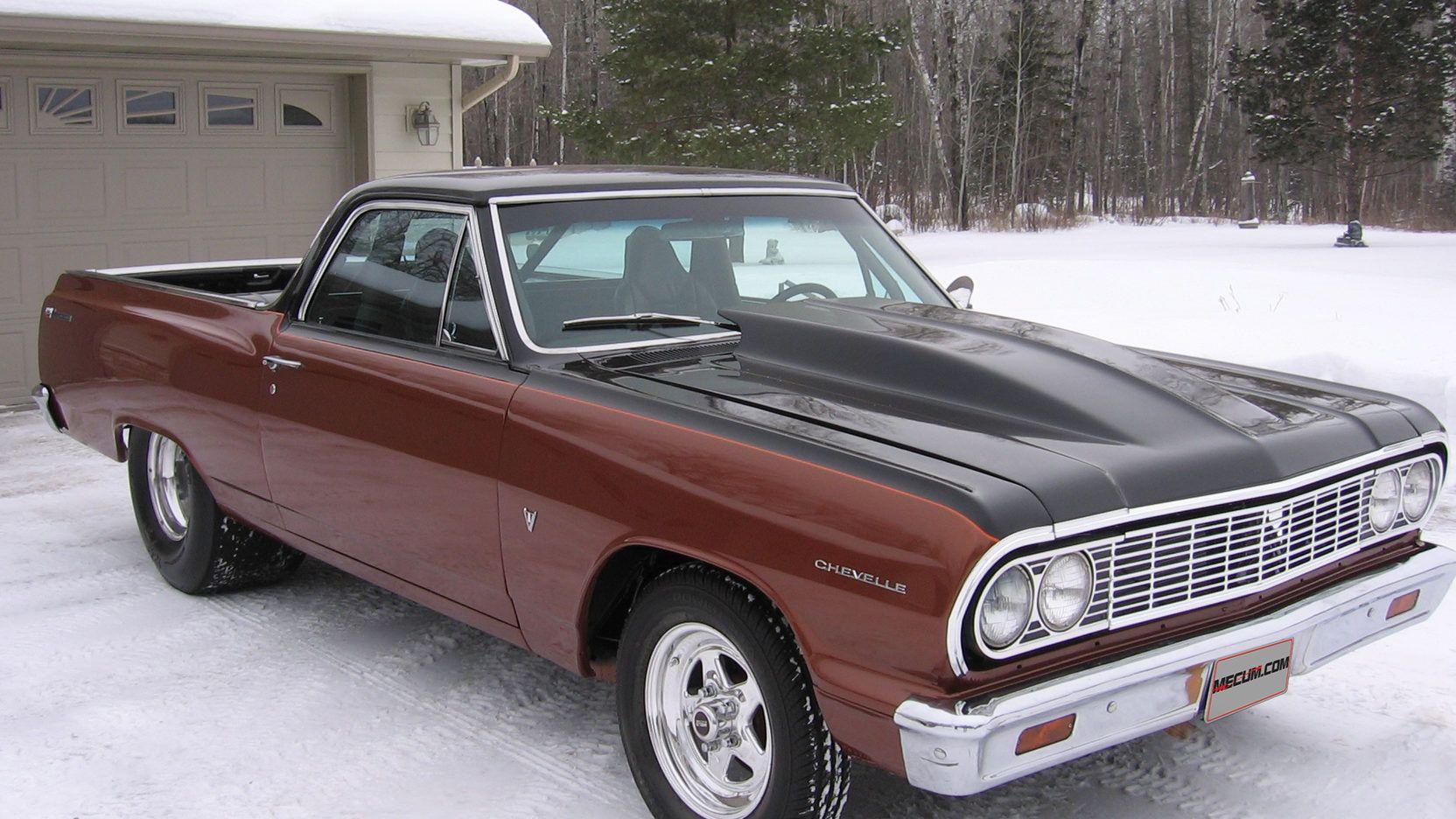 1964 Chevrolet El Camino Presented As Lot T136 At Kansas City Mo Chevrolet El Camino Classic Cars Chevrolet