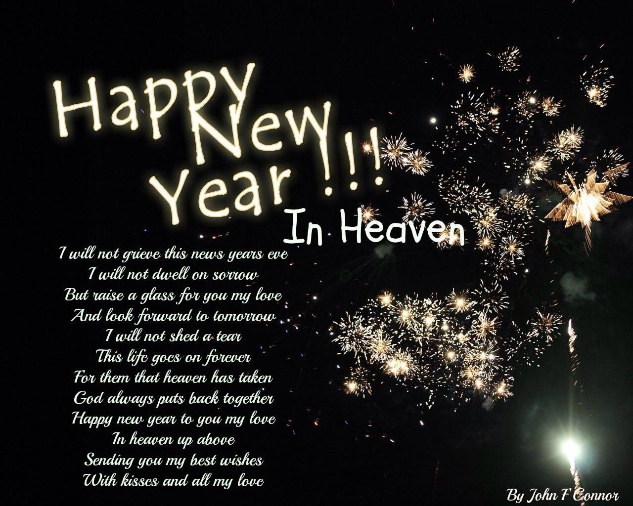 Happy New Years in Heaven Harry. I Miss you and l Love you