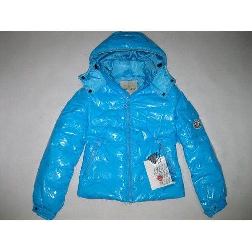sky blue moncler coat