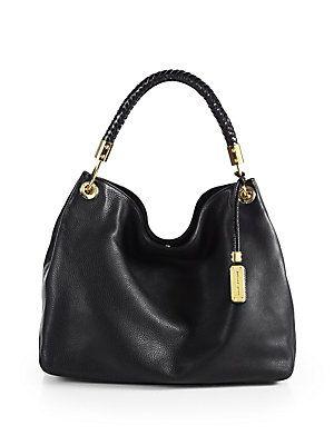 49681b85394a comes in bordeaux color. Michael Kors Skorpios Large Hobo Bag