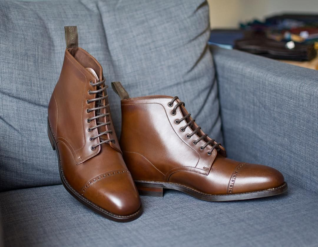 Trzewiki Loake Model Hyde Brogs Mensstore Wroclaw Boots Loake1880 Loakewroclaw Loakeshoes Goodyearwelted Classi Dress Shoes Men Oxford Shoes Men Dress