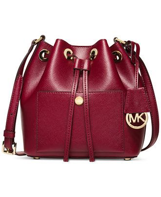 MICHAEL Michael Kors Greenwich Small Bucket Bag - Michael Kors Handbags -  Handbags   Accessories - Macy s b395be68aada1