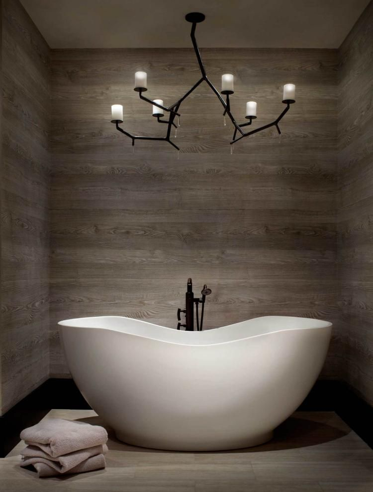 Luminaire salle de bains - 30 belles photos et bons conseils ...