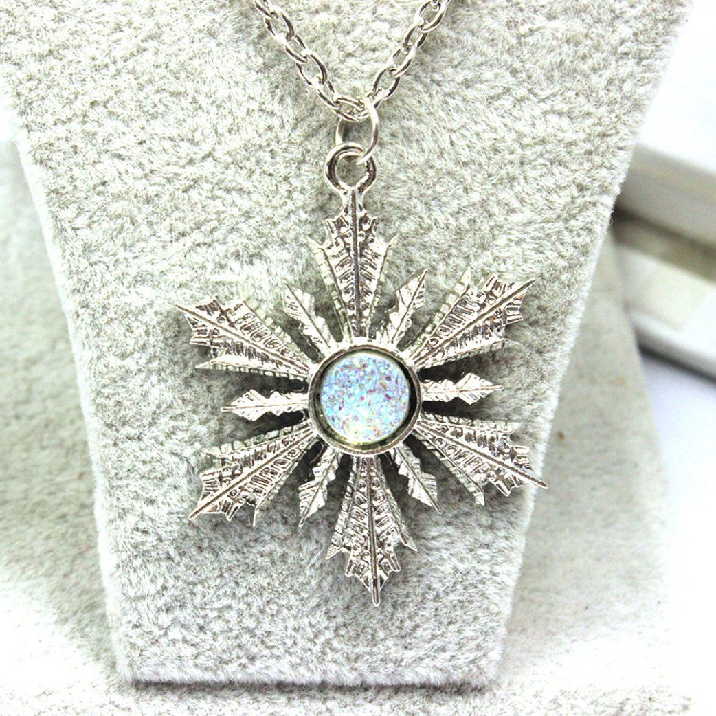 Once Upon A Time Elsa Snowflake Necklace