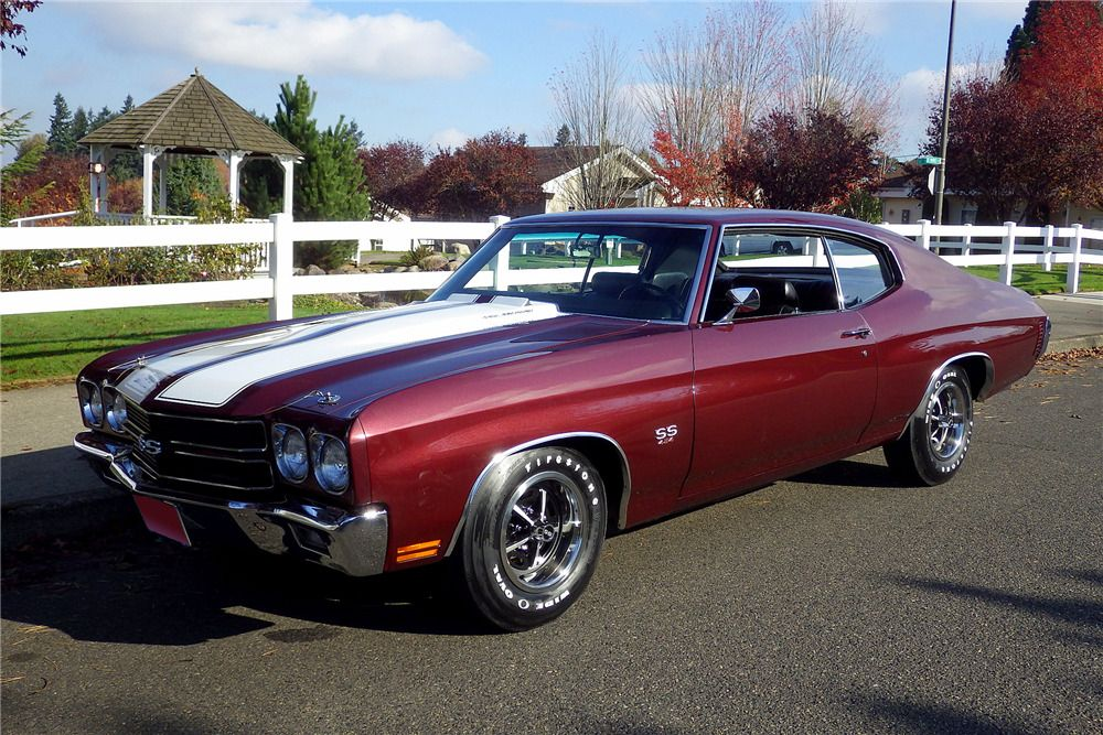 2016 Chevelle Ss >> Sold At Scottsdale 2016 Lot 1134 1970 Chevrolet Chevelle Ss 454