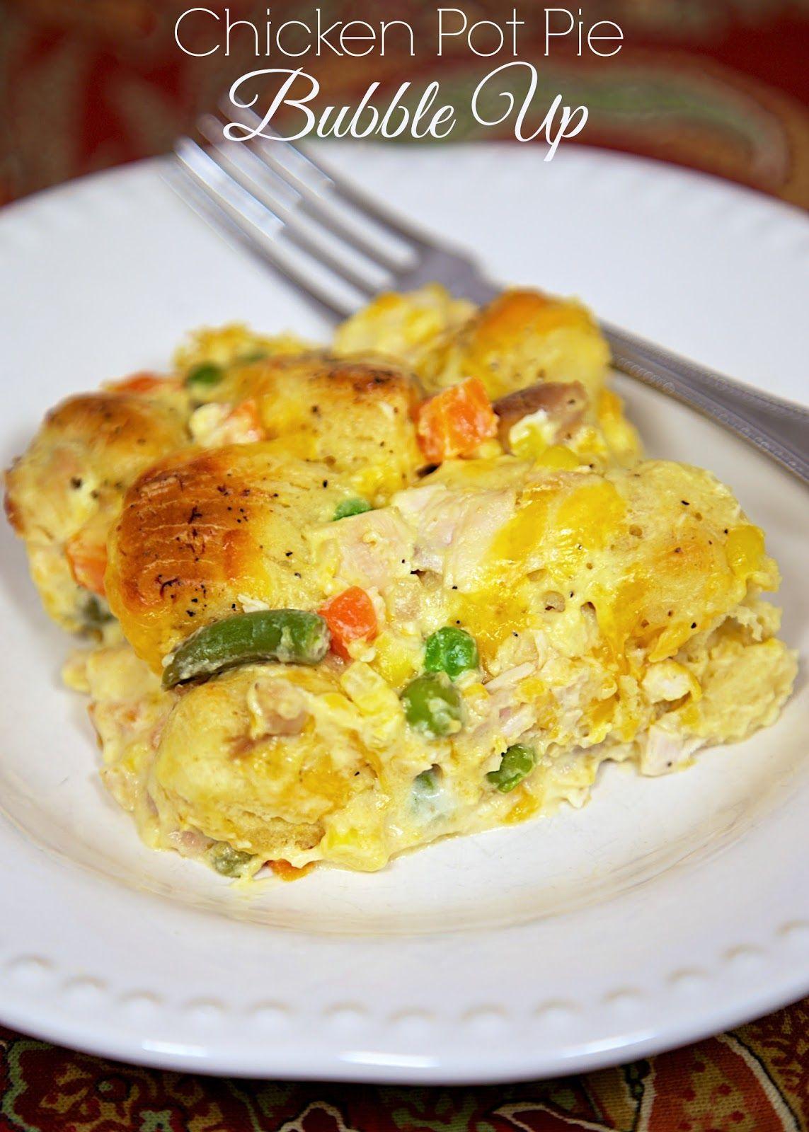 Chicken Pot Pie Bubble Up Recipes Chicken Recipes Chicken Pot Pie Recipes