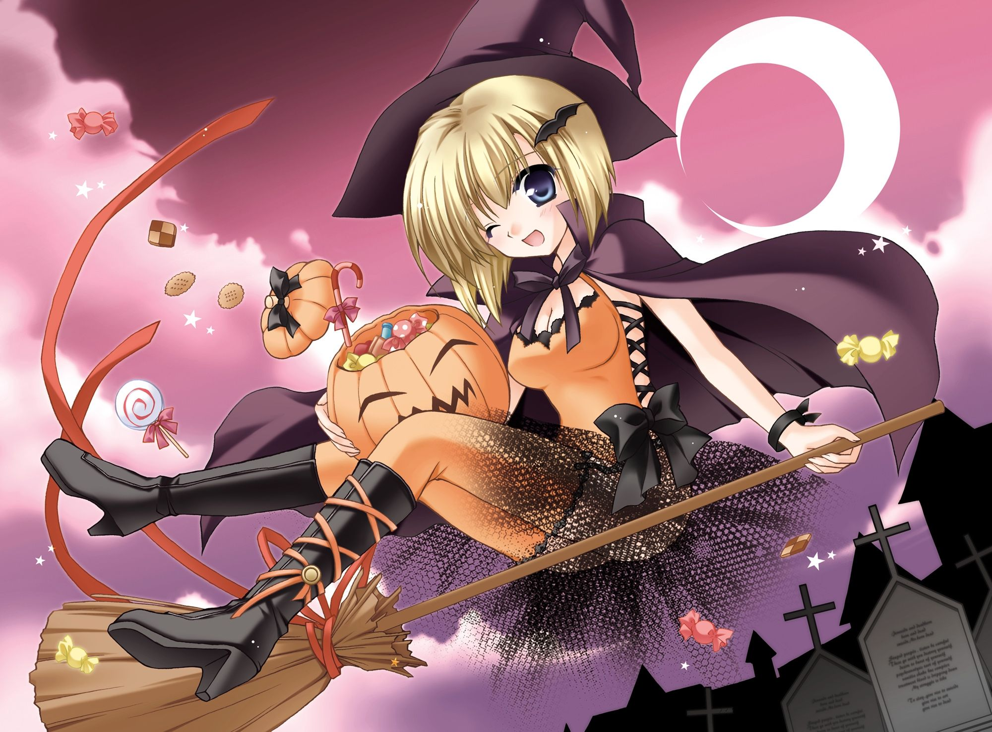 Anime Halloween Hd Wallpapers And Backgrounds Anime Halloween