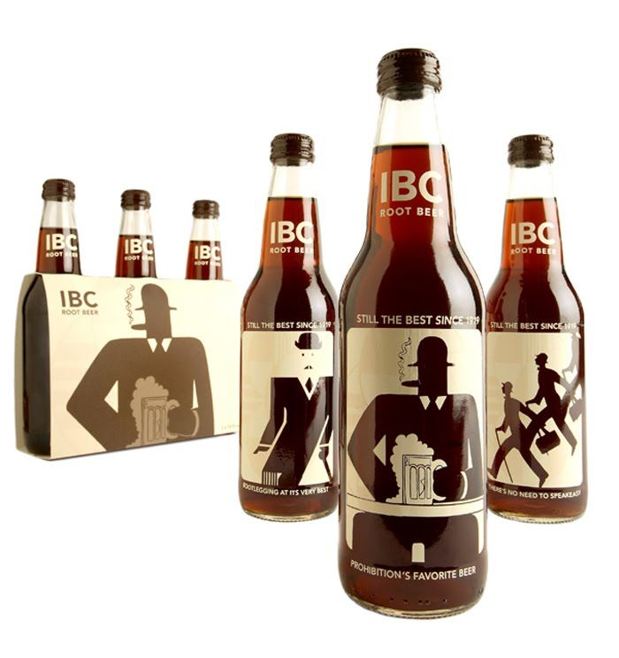 Root Beer, Prohibition's favorite beverage #label #marketing