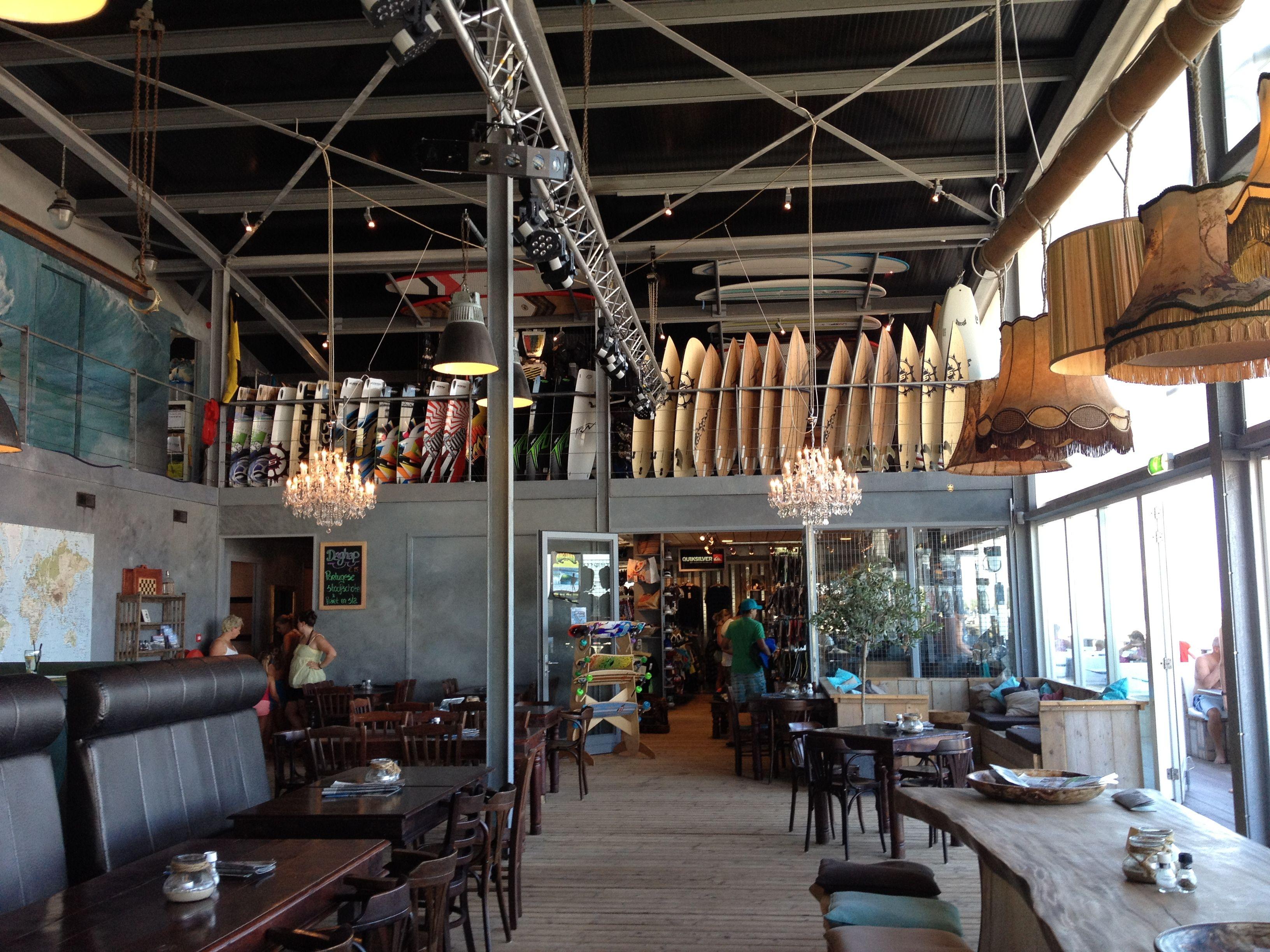 Shevenning La Haya Restaurant Y Tienda De Surf A La Orilla De La  # Muebles Den Haag