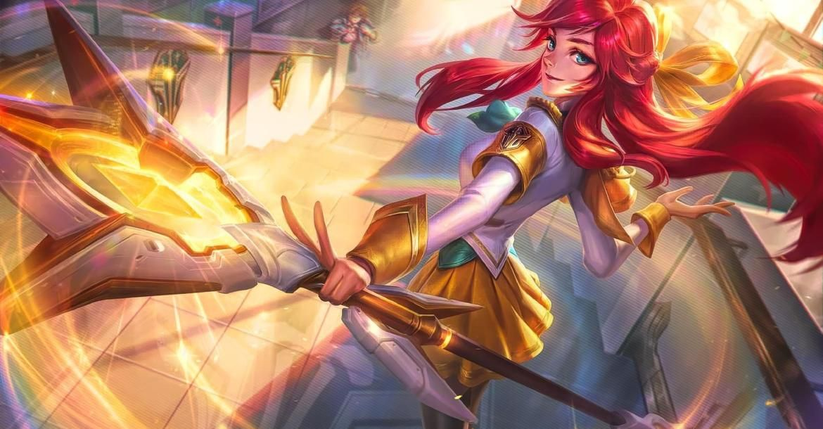 Next Champion To Receive The Prestige Edition Skin Is Lux Lol L2pbomb League Of Legends League Of Legends Game Video Games Girls
