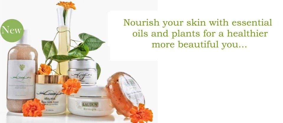 Pamper yourself with Cosmetiques Laudun! http://www.thelaudun.com