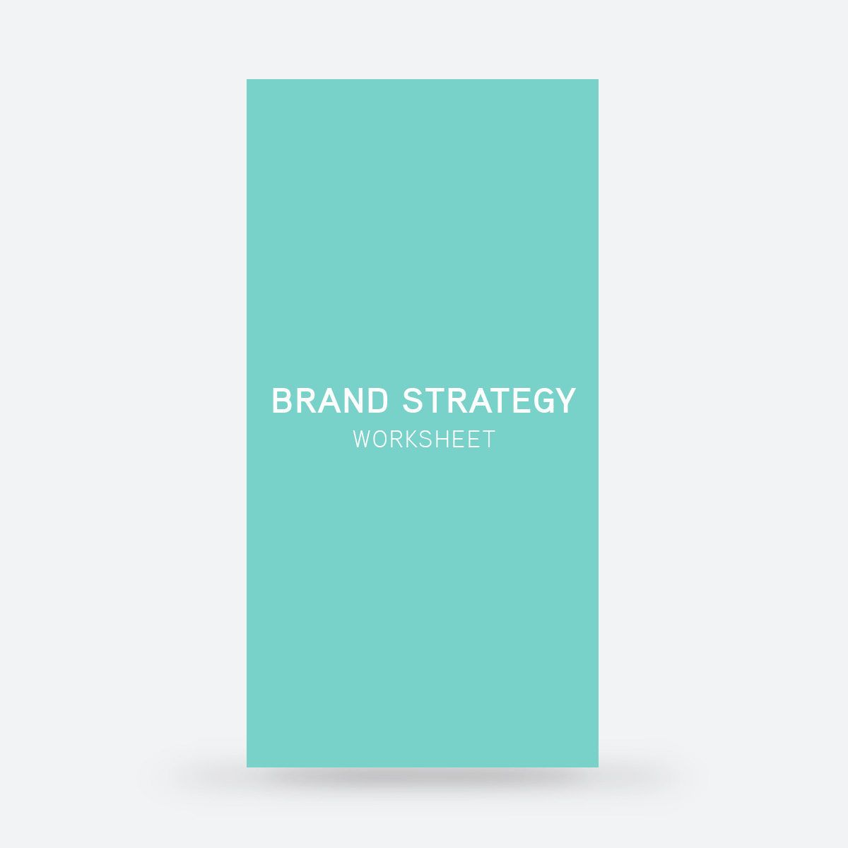 Brand Strategy Worksheet