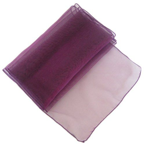 Http Www Weddingstuff2017 Ourwarm Eggplant Purple Organza Table Runner 12