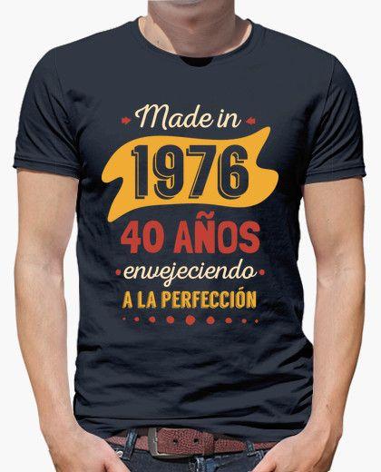 Camiseta 40 Años Envejeciendo a la Perfección Cumpleaños 50 Hombre 1182a64e165ed