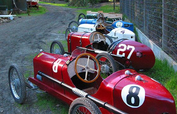 Old fashioned go karts for sale 1