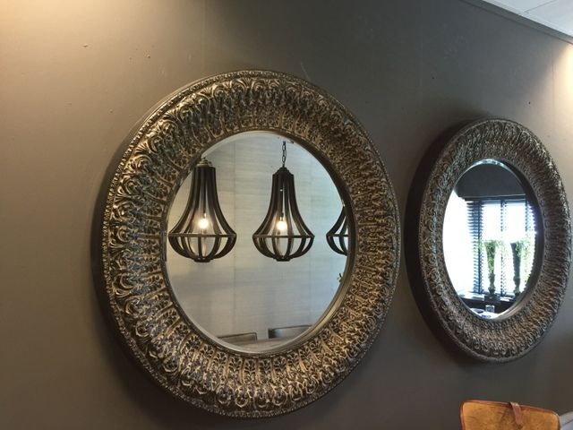 Barok Spiegel Ovaal : Runder spiegel dekoration & accessoires