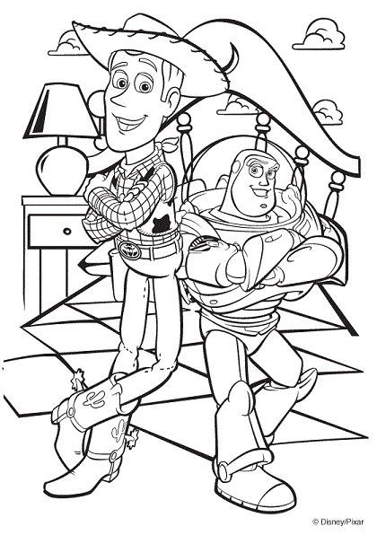 Coloring page Disney Coloring Pages Pinterest Free, Kids - new coloring book pages toy story