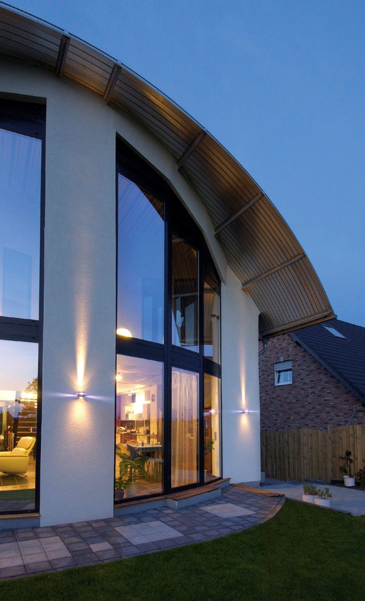 Exterior design. Modern house. SLV Lighting. Look up for more at www ...