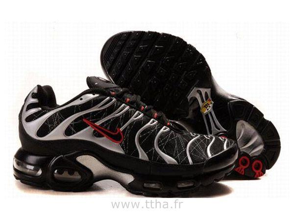 nouveau produit 3e094 b20d6 Chaussures de Nike Air Max Tn Requin Homme Noir Blanc et ...