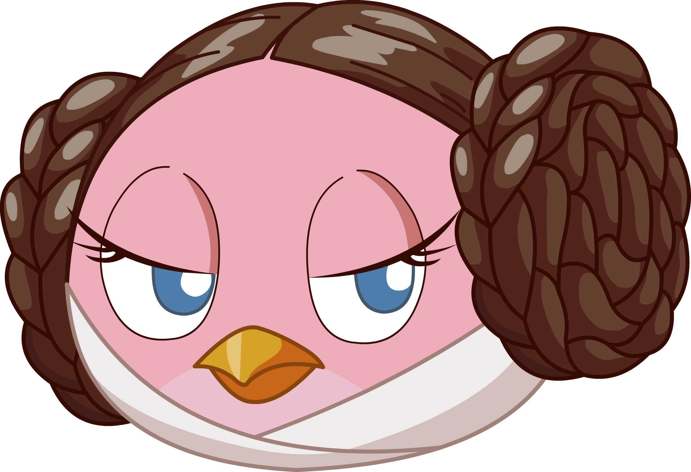 Angry Birds Star Wars Pink By Lavagasm On Newgrounds Angry Birds Star Wars Angry Birds Star Wars Cookies