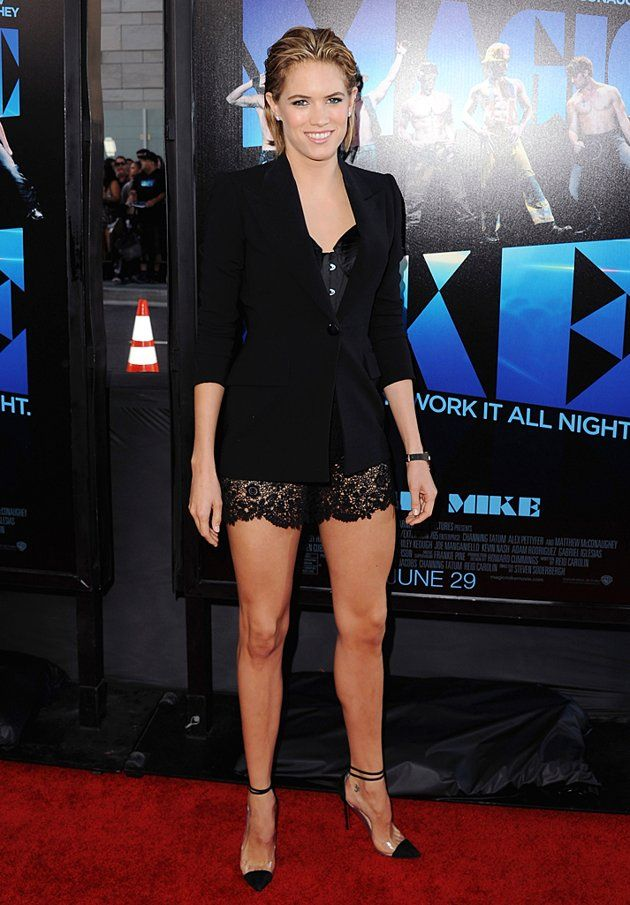 Cody Horn In Gaultier And Louboutin Style Love Pinterest Horn Jean Paul Gaultier And