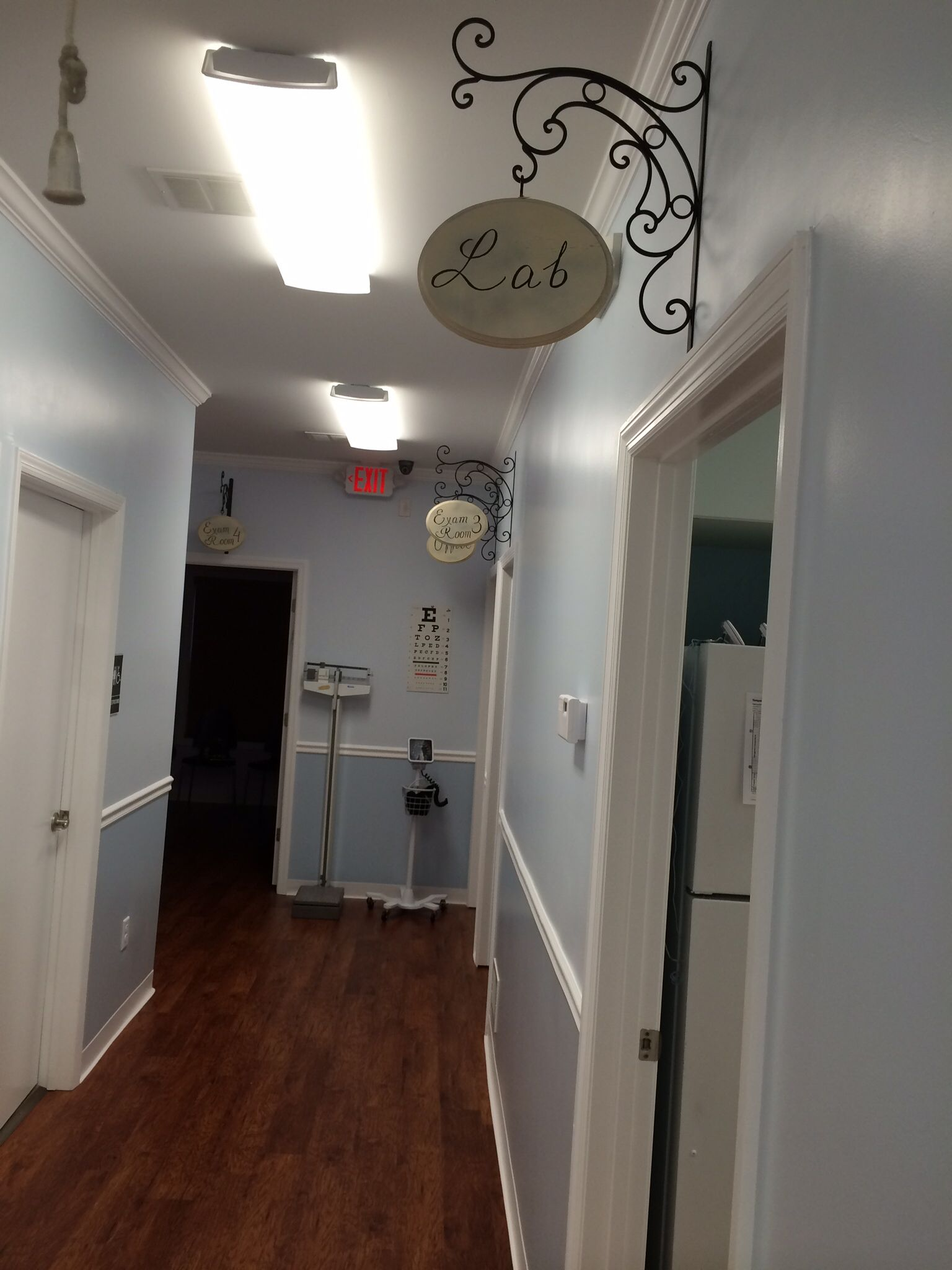 Hallway Pediatrics office, Office design, Design