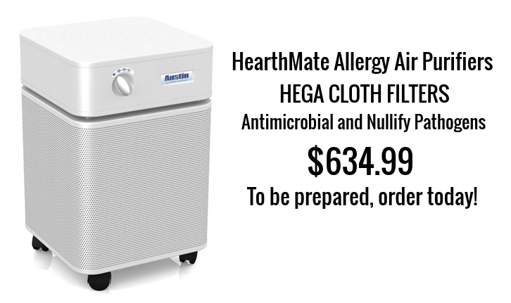 The Austin Air Allergy Machine™ has been developed