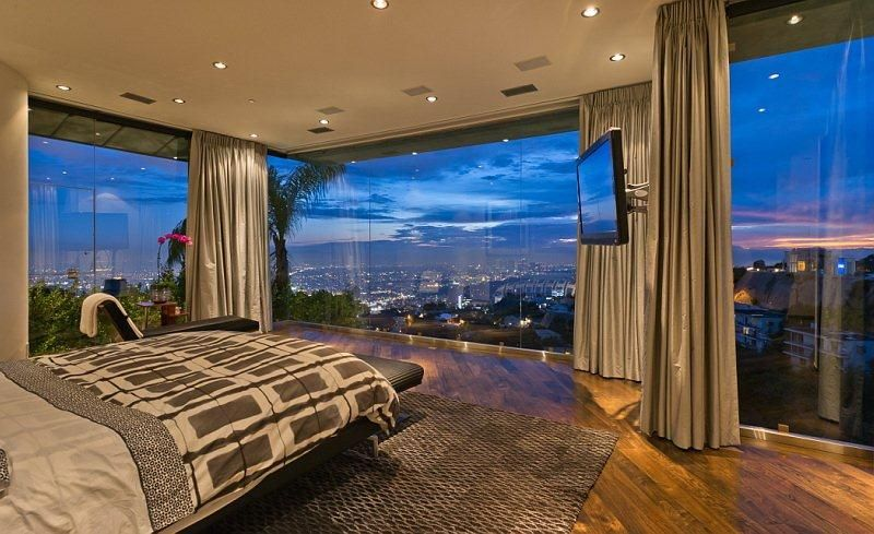 Room With A View Luxurious Bedrooms Pent House Luxury