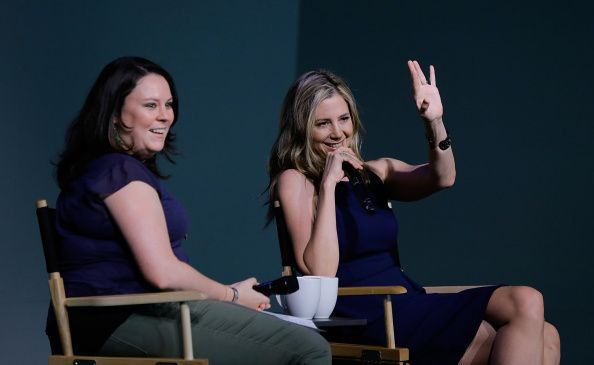 Actor Mira Sorvino attends Meet the Actor at the Apple Store Soho on August 14 2014 in New York City