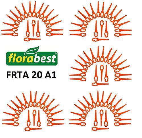 100 Lame de rechange pour votre Flora Best Lidl Coupe-bordures sans