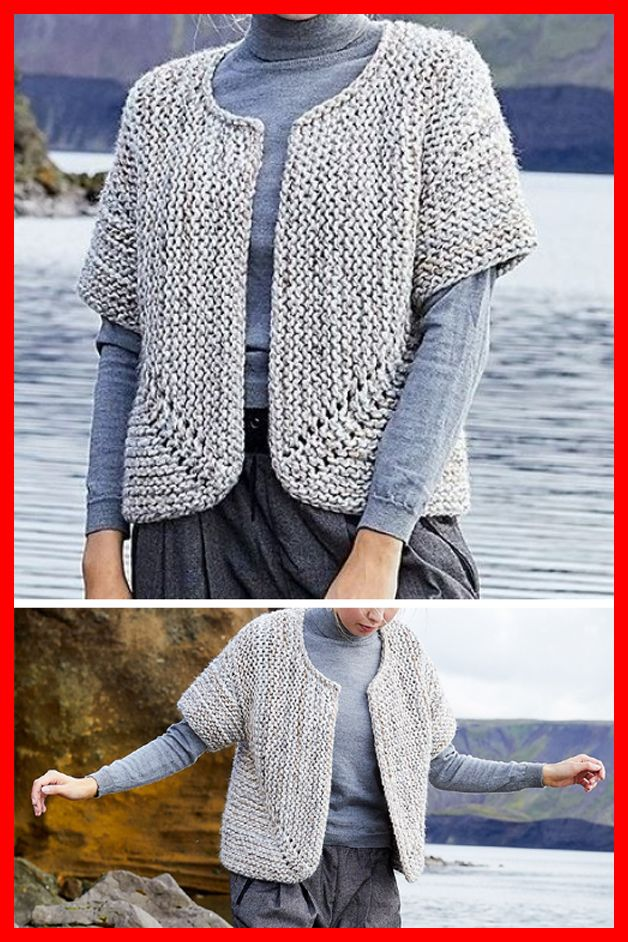 Photo of Jutka Cardigan – Free Pattern