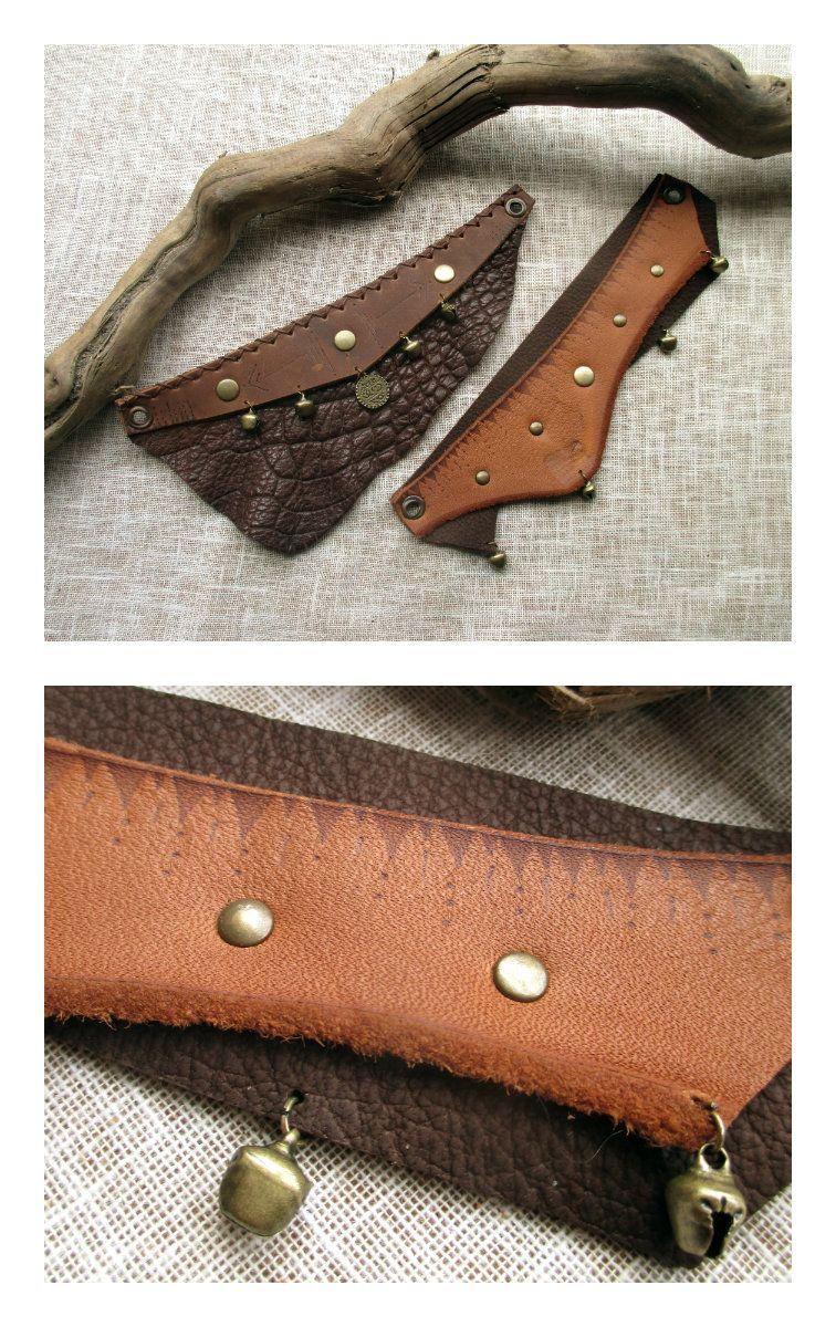 Bijoux en cuir artisanal