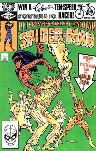 The Spectacular Spider-Man January 1982 #62