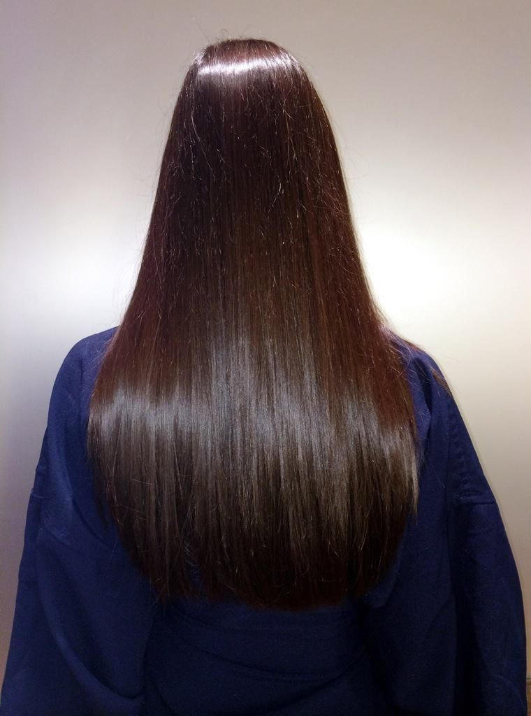 Healthy, shiny hair on With Love From Kat's Kat Tanita using Joico products.
