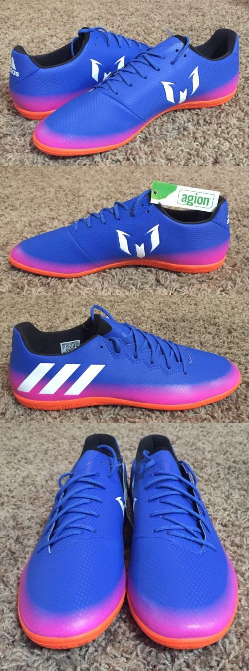 Men 109133 Adidas Messi 16 3 In Indoor Soccer Shoes Blue Pink Orange White New Men S Buy It Now Only 44 99 On Ebay Soccer Shoes Blue Shoes Fun Sports