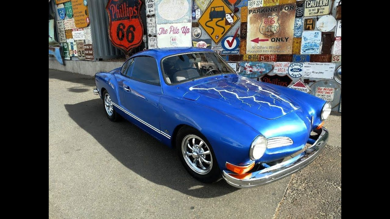Karmann ghia conversion to electric the process in 2020