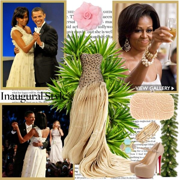 Inaugural Ball, created by milica-b3 on Polyvore