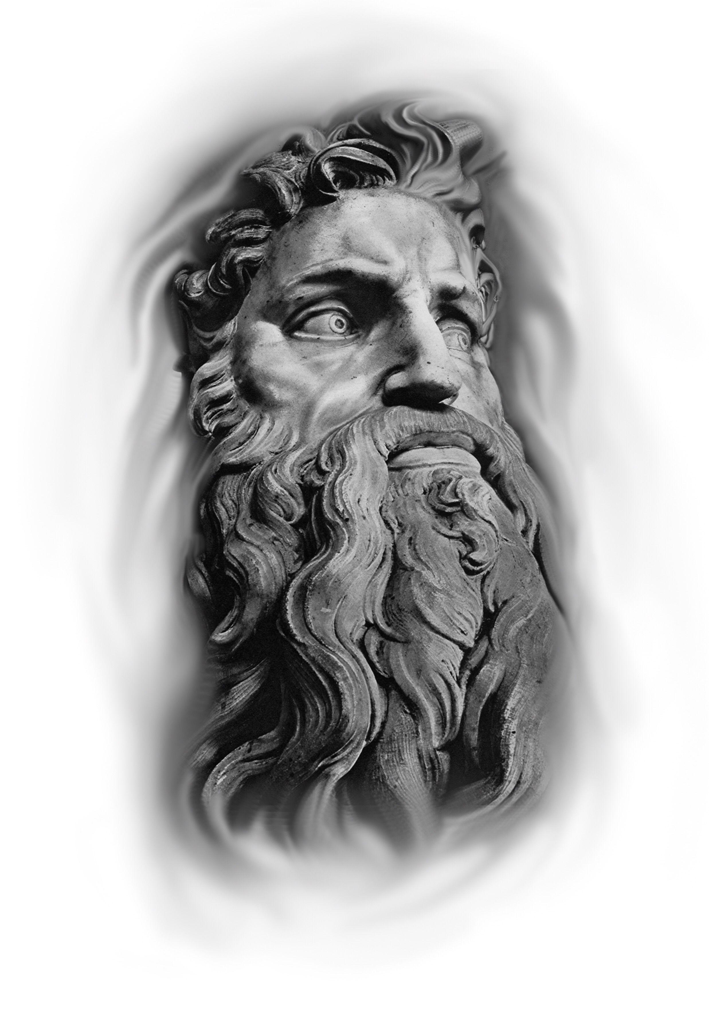 Black And Grey Designs Tatuagem Da Mitologia Grega