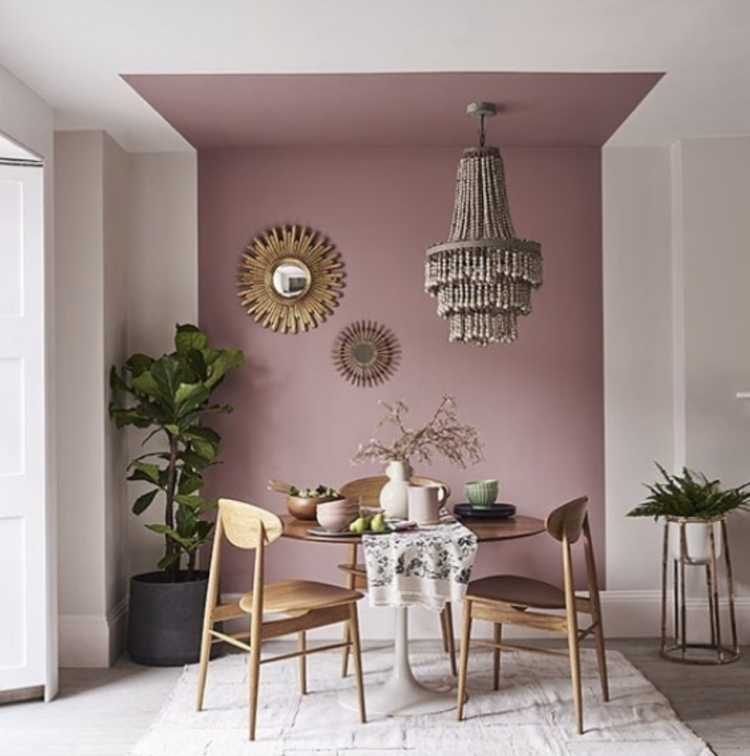 Monday Inspiration The Power Of Paint In 2020 Feature Wall Living Room House Interior Interior