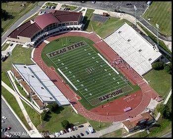 Texas Bobcats Bobcat Stadium Football Stadiums Stadium Texas State Bobcats