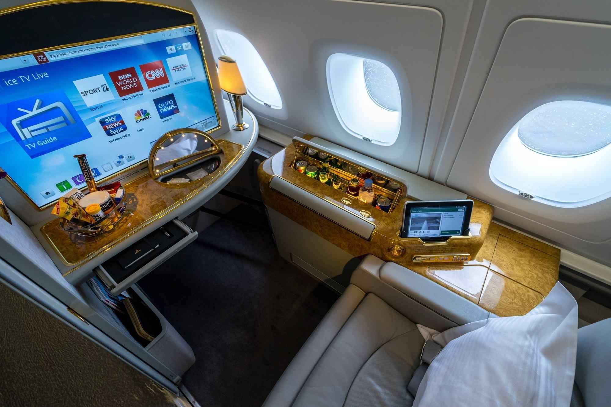 Les meilleures première classe des compagnies aériennes