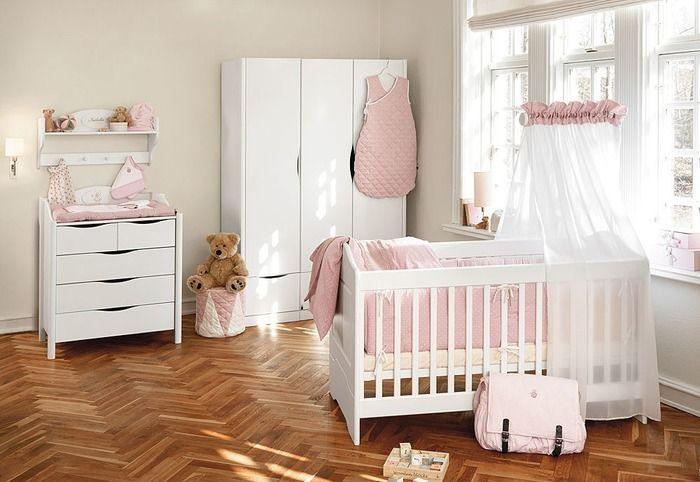 resultado de imagen para decoracion habitacion bebe nia fotos - Habitacion Bebe Nia