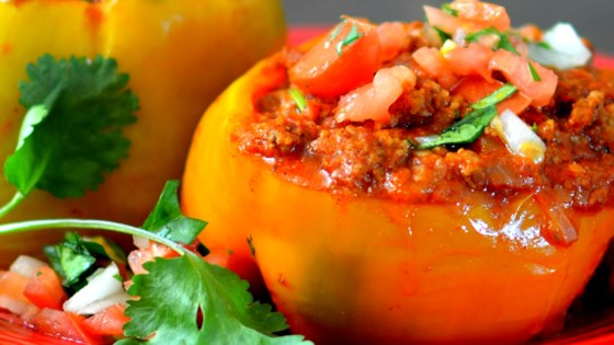 Instant Pot Beef Stuffed Peppers Recipe In 2020 Stuffed Peppers Dinner With Ground Beef Beef Dinner